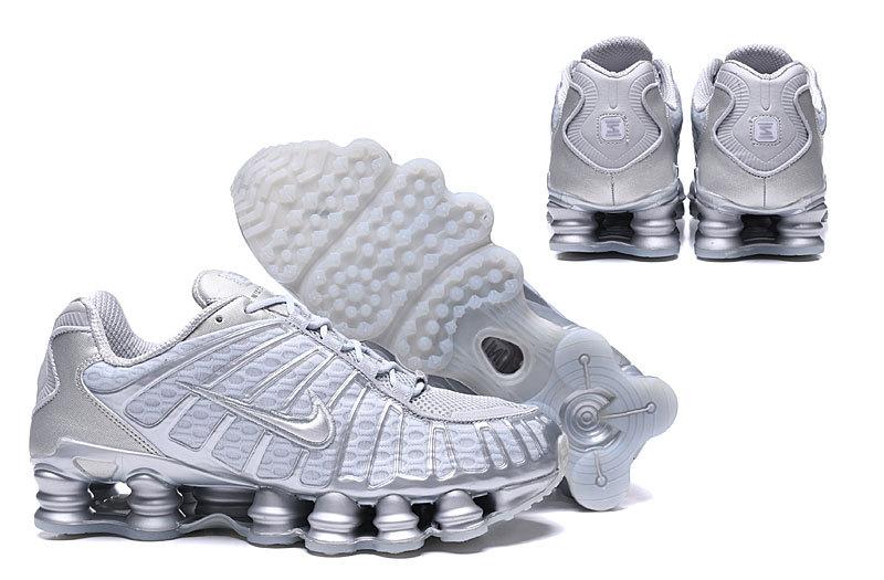 Nike Dame Shox Tl Pure Platinum/Chrome AR3566-003